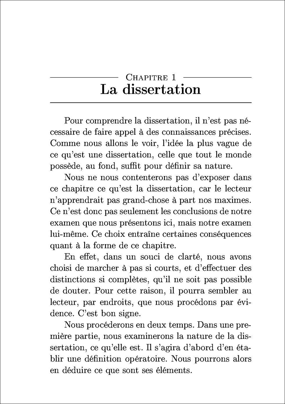 Dissertation introduire citation